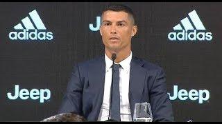 Presentación de Cristiano con la Juventus