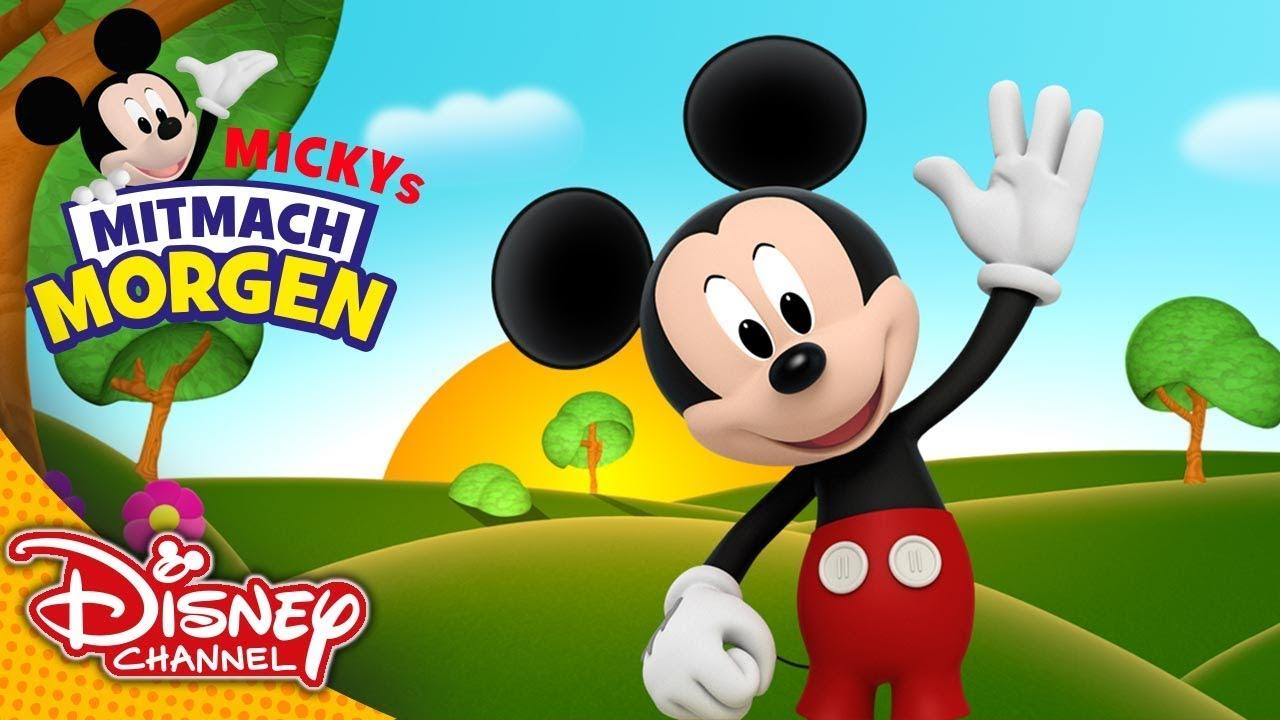 Mickys Mitmach Morgen Unser Guten Morgen Lied Disney Channel