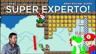 Deja de Matar | Yoshis Kifoo! Super Experto | Super Mario Maker