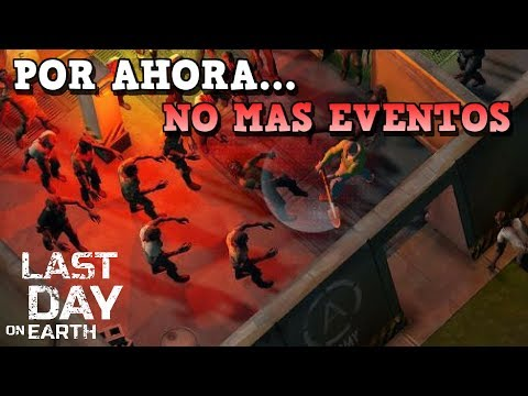NO MAS EVENTOS ESPECIALES EN EL FUTURO PRÓXIMO | LAST DAY ON EARTH: SURVIVAL | [RidoMeyer]