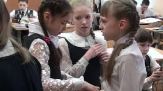 г.Йошкар-Ола. Съёмка на уроках в школе. 5 класс
