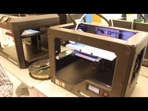 3D Printers at GE Garage Lagos