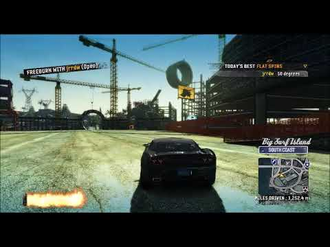 Burnout Paradise Remastered Challenges 2 Player