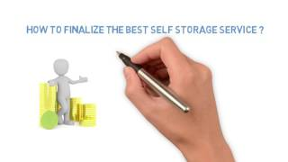 Tips to finalize the best self storage services by West Bellfort Self Storage