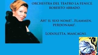 Mirella Freni. Ah! il suo nome! Lodoletta. Pietro Mascagni.