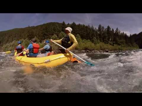 360 Video: Whitewater Rafting On The Clackamas River In Mt. Hood Territory