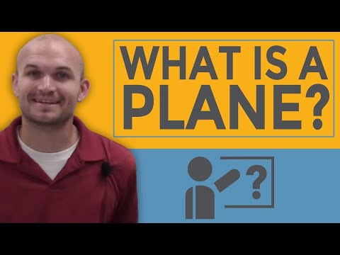 What is a plane