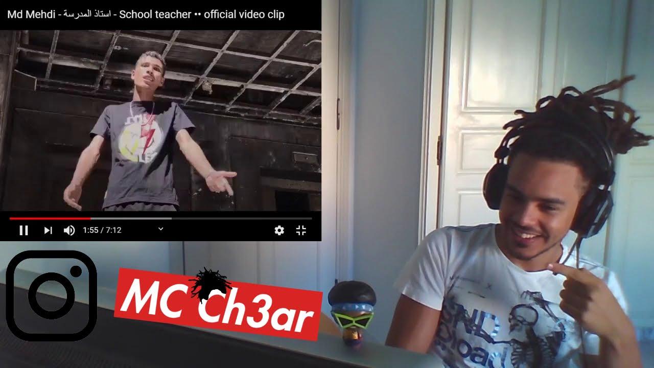 Download Md Mehdi - استاذ المدرسة - School teacher  ردة فعل تونسي على | Ch3ar Reaction