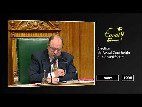 Les archives de Canal9: élection de Pascal Couchepin au Conseil fédéral (1998)