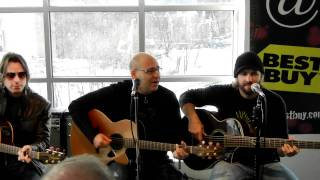 Sister Hazel - Change Your Mind (acoustic) - Boston, MA 1/22/11