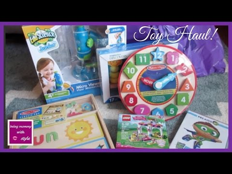 Educational Toy Haul for ages 4-6 years old! | beingmommywithstyle