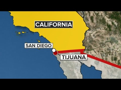 U.S. closes San Ysidro port of entry between San Diego and Tijuana, Mexico