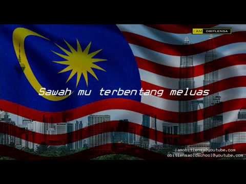 Malaysia Tanah Airku with lyrics