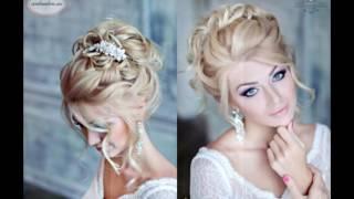САМЫЕ КРАСИВЫЕ свадебные прически на средние волосы/wedding hairstyles for medium hair
