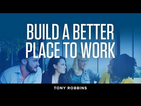 Transforming Your Company's Culture | Tony Robbins Podcast