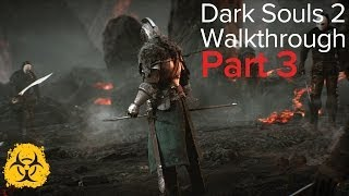 dark souls 2 walkthrough part 03 forest of fallen giants part 1