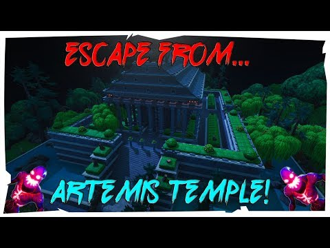 How To Escape From The Artemis Temple! (Fortnite Creative)