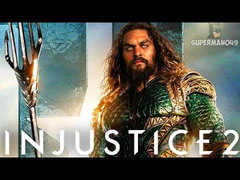 "JUSTICE LEAGUE Aquaman Epic Gear Looks Amazing! - Injustice 2 ""Aquaman"" Justice League Gear Gameplay"