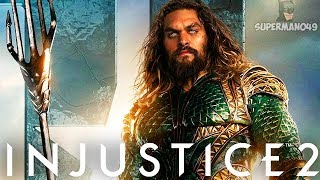JUSTICE LEAGUE Aquaman Epic Gear Looks Amazing! - Injustice 2