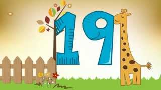 THE NUMBERS: Number, Songs For Children, Number Song, 1 to 20, 123