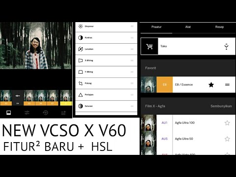 New VSCO X