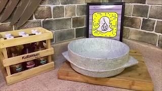 طريقة تجهيز المغشات الحجرية للطبخ