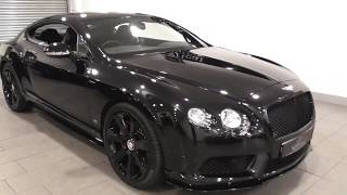Bentley Continental GT V8 S CONCOURS SERIES BLACK EDITION