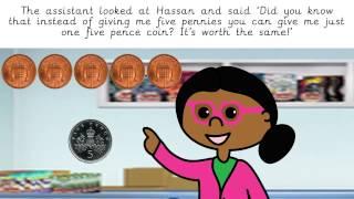 Money story for children UK