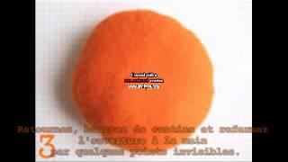 Ep 01: Tutoriel citrouille pique-aiguille halloween