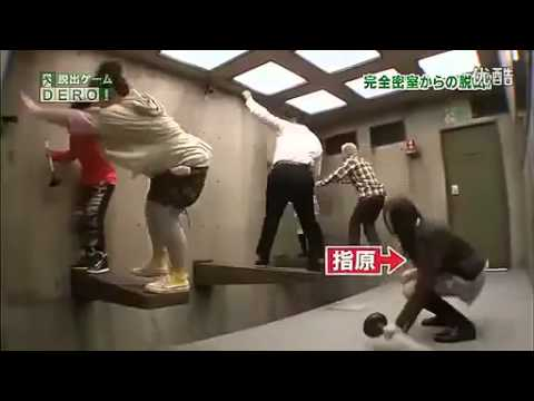 a girl falls to her death during a japanese extreme game
