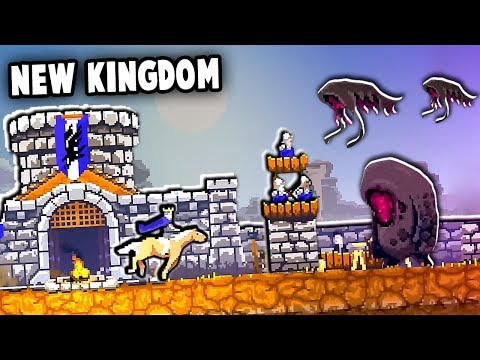 NEW Kingdom Under SIEGE!  Skull Island Update! (Kingdoms New Lands: Skull Island DLC)