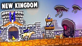 NEW Kingdom Under SIEGE!  Skull Island Update! (Kingdoms New Lands: Skull Island DLC)