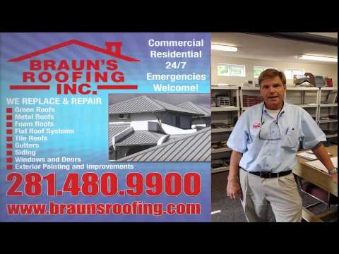 Roofing in Houston TX Roofing Companies Houston Braun's Roofing 281-480-9900