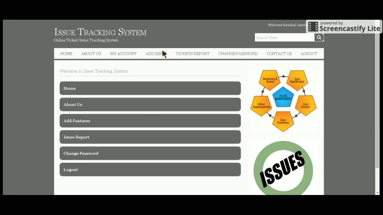 Java and JSP Project on Issue Tracking System - YouTube