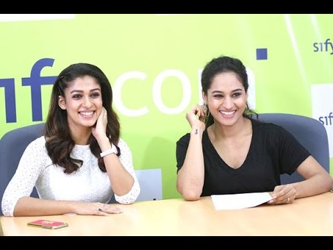 Exclusive: Nayanthara's live video chat with her fans on Sify.com Part:7