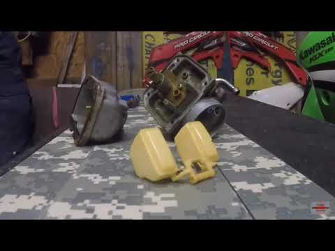 KLX125 how to disassemble and clean carburetor