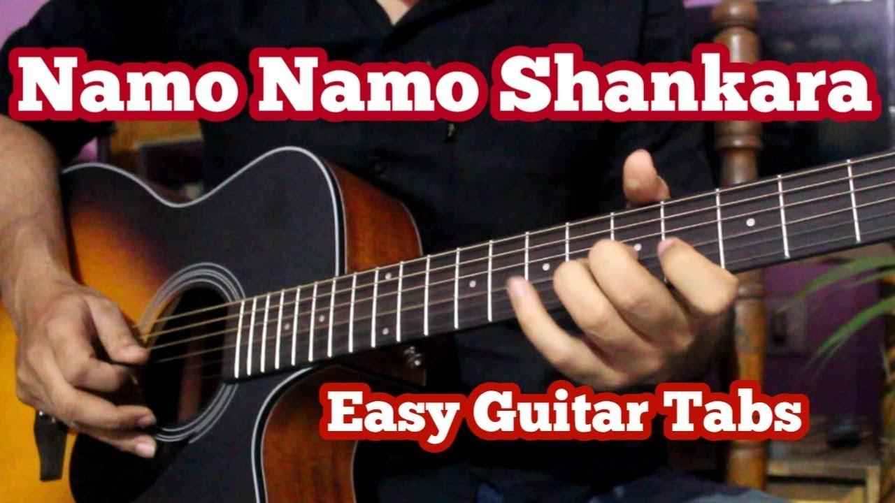 Namo Namo Ji Shankara - Unplugged Guitar Tabs For Beginners   Sushant Singh, Amit Trivedi