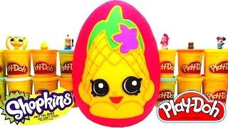 Shopkins Cicibiciler Dev Sürpriz Yumurta Oyun Hamuru - Shopkins Oyuncakları,  Frozen, MLP