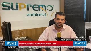 No Programa de hoje CEO da SUPREMO Ambiental Elio Jove falou sobre Piscicultura.