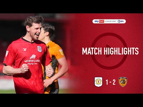 Crewe Hull Goals And Highlights