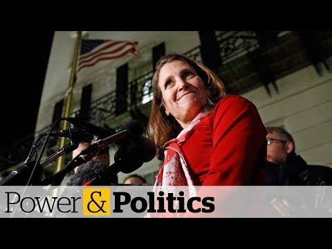 Freeland en route to Mexico as new NAFTA deal appears close at hand | Power & Politics