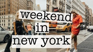 weekend in new york city with my bff