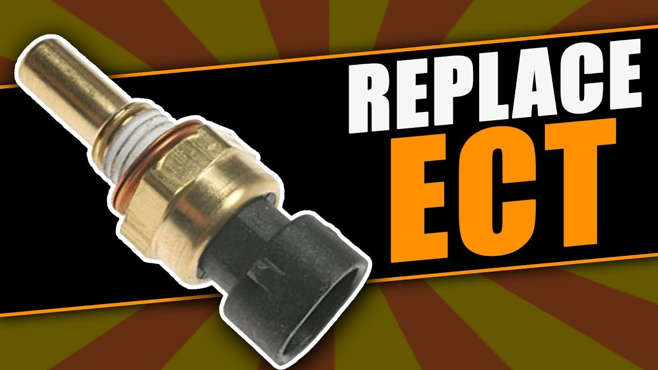 how to replace the engine coolant temperature sensor on dodge dakota and durango [ 1280 x 720 Pixel ]