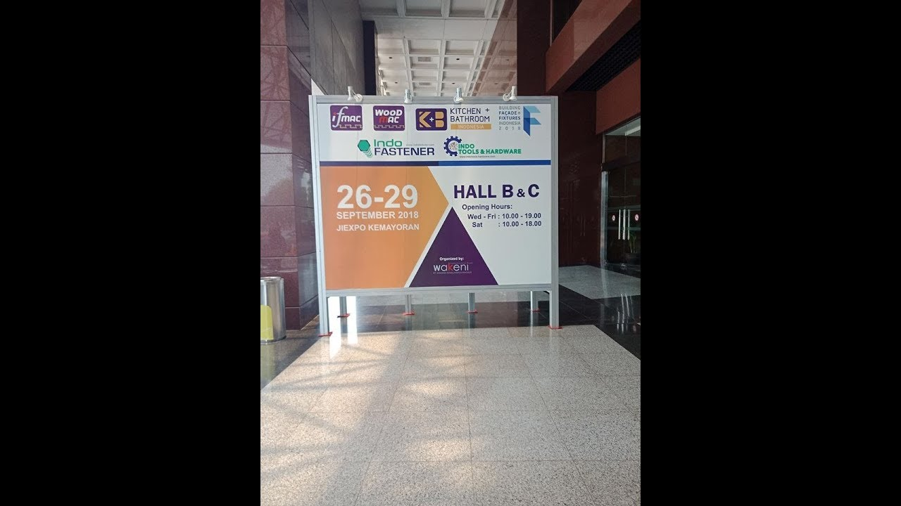 IFMAC woodworking machinery exihibition Indonesia 2018