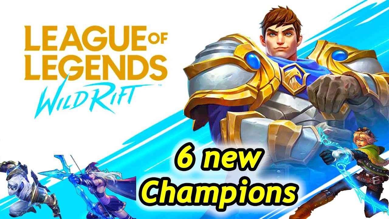 Wild Rift - 6 new champions and 7 things to know (My Reaction)