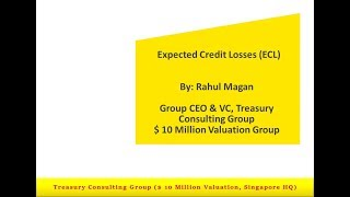 Expected Credit Losses (ECL) - Impairment Modeling