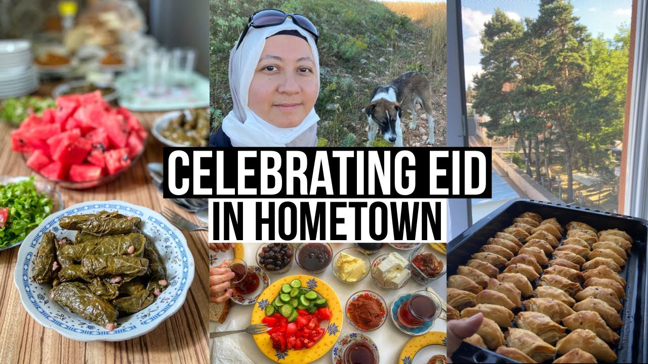 Celebrating Eid With Family in Hometown / Preparations, Visits & More
