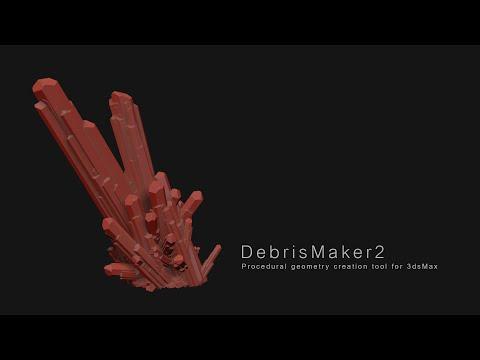 DebrisMaker2 - Procedural geometry creation tool for 3dsMax