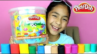Tuesday Play Doh Huge Play Doh Bucket Adventure Zoo|B2cutecupcakes thumbnail