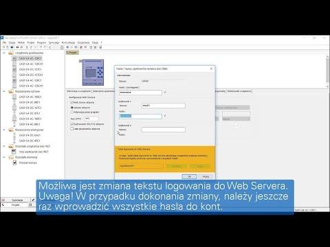 easySoft  Konfiguracja funkcji Web Servera w programie easySoft 7